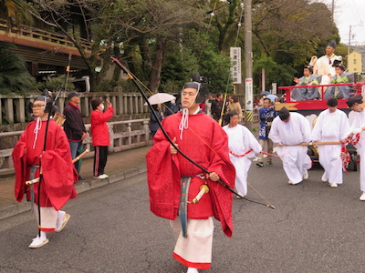 浅間神社出発