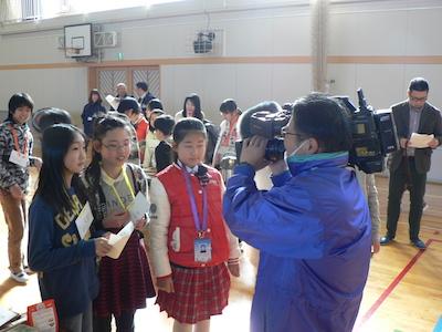 SBSテレビ取材