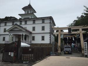旧見付学校と淡海国玉神社