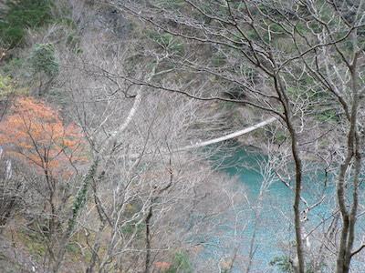 夢の吊橋 遠景