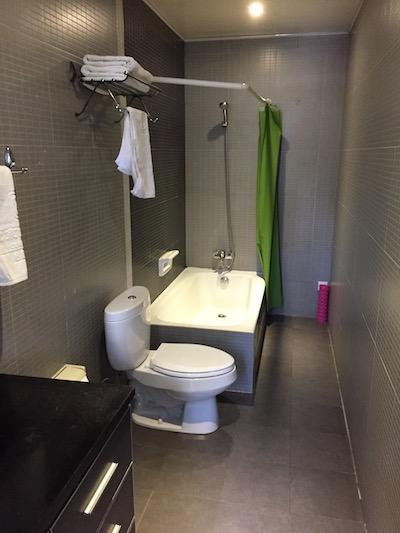 貴賓室バスルーム