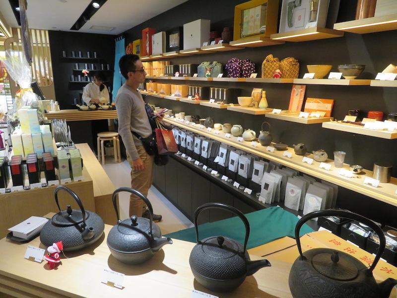 SOGOデパート内静岡茶専門店