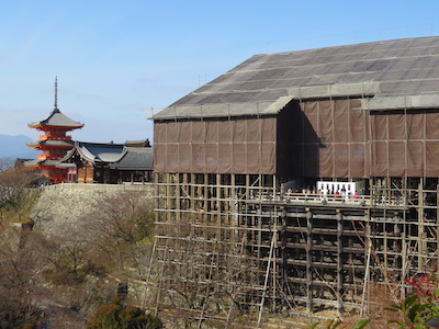 清水寺本堂修理