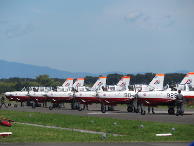 T-7整列