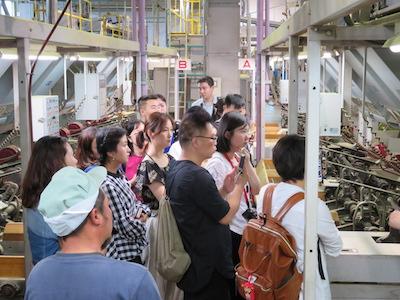 茶工場見学