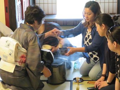 臨水亭抹茶体験