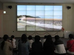 地震防災センター 津波学習