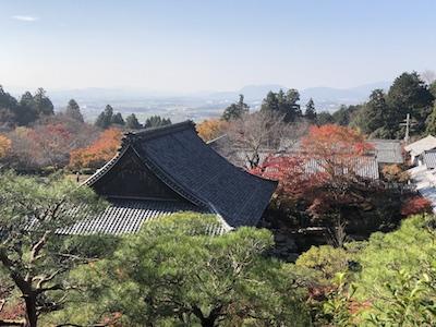 百済寺からの眺望