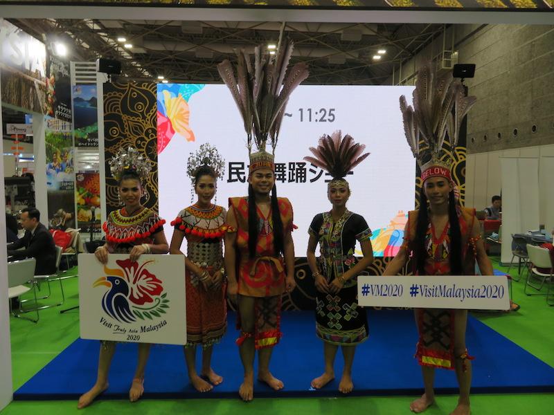 マレーシア民族舞踊団.