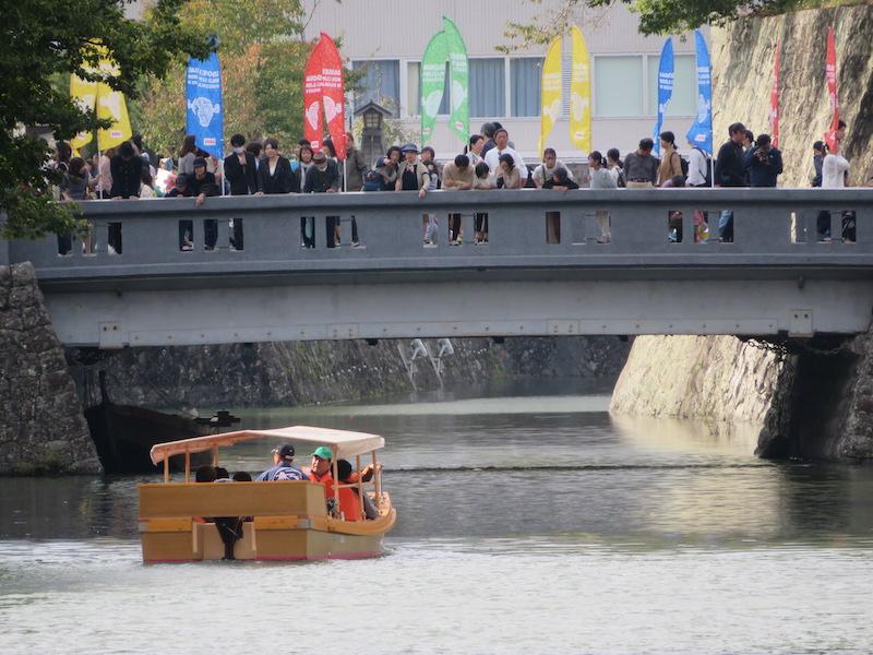 松江から嫁入りした観光和舟