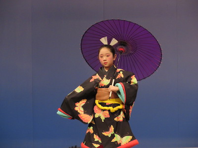 日本舞踊 藤間流紫会