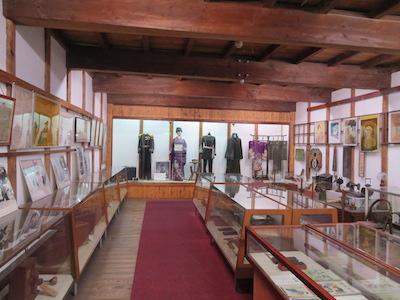 資料館展示室