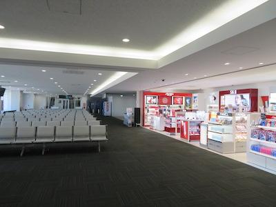 静岡空港国際線待合室